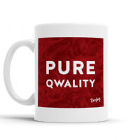 Doofery - Pure Qwality - Mug - Red